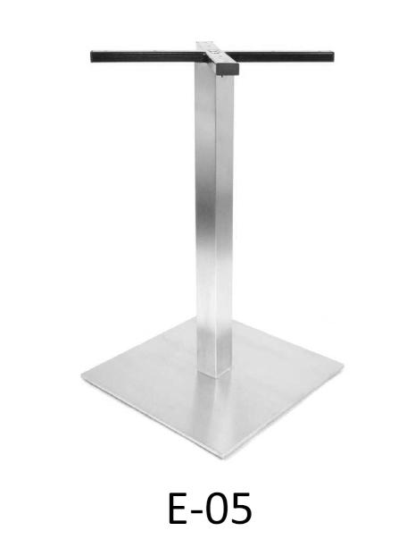 Cudowna Stelaż stołu chrom stal nierdzewna H-720 mm E-05 STOLMET-akcesoria FD84